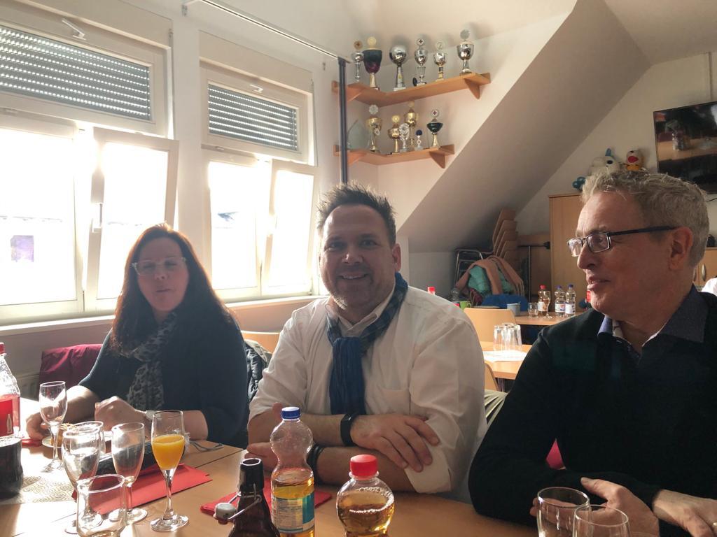 SWG Zu Gast Beim Neujahrsempfang Des DRK OV Neuenhasslau / Gondsroth