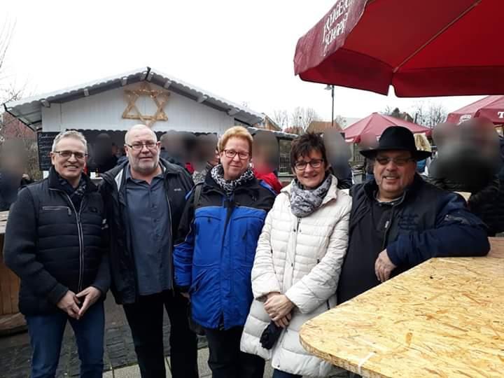 4. Advent Auf Dem Weihnachtsmarkt In Neuenhasslau